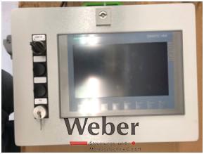 Steuerung mit Display von Maschinenbau Weber